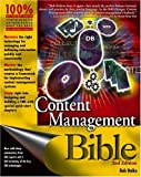 Content Management Bible, Bob Boiko, 0764573713