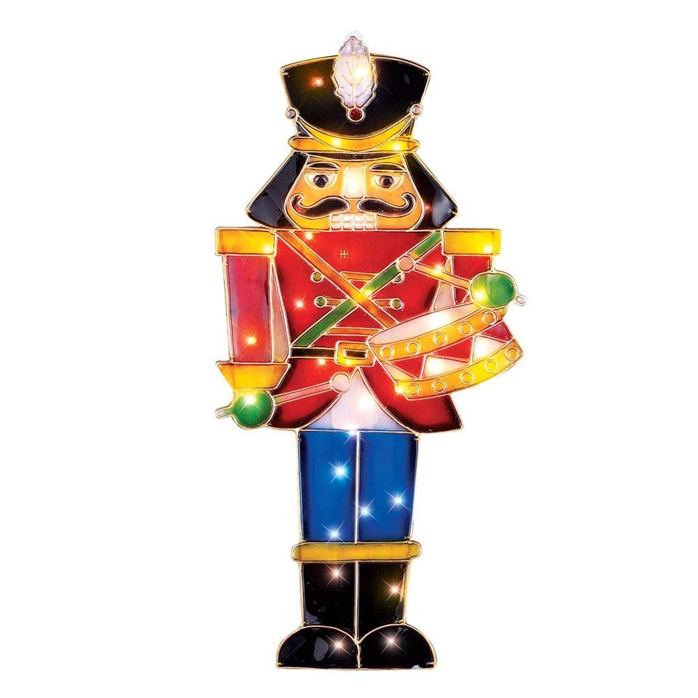 Amazon.com : Lighted Nutcracker Soldier Christmas Decoration ...