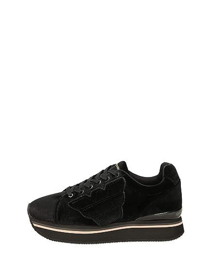 b0fe99b77616 Emporio Armani Women s Trainers Black Black Black Size  2.5