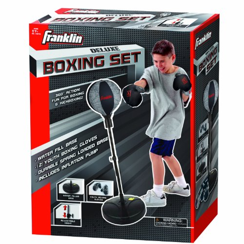 Franklin Sports Deluxe Boxing Set with Authentic Sounds