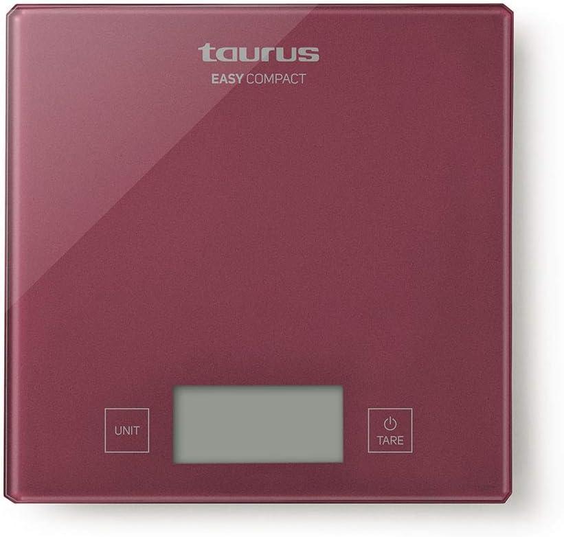 Taurus Easy Báscula de cocina, balanza digital, diseño compacto y ...