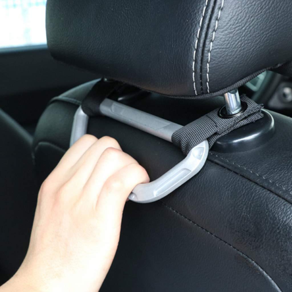 KESOTO Auto Griff Kopfst/ütze Einstiegshilfe Ausstiegshilfe Haltegriff Sitzgriff Fahrersitzhebel aus Aluminium