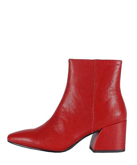 design di qualità eed1b 8c093 Vagabond Olivia Boots Red - Stivaletti da Donna Rossi in ...