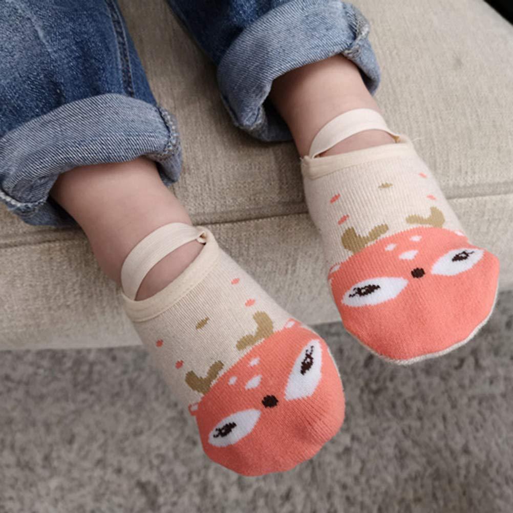 WINBST Anti Slip Baby Socks Kids Socks First Aid Toddler Non-Slip Cotton Socks