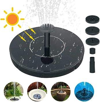 Bomba De Agua Solar Para Fuente De Jardín,1,4 W, Bomba De Agua Solar Para Pecera, Pájaros, Estanque, Piscina, Decoración De Jardín: Amazon.es: Bricolaje y herramientas