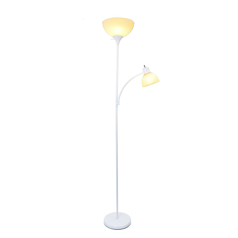 Amazon.com: Lámpara de pie con luz de lectura Simple ...