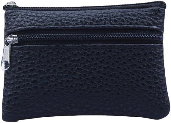 TEBAISE Mini Rucksack Faux Leder mit Reißverschluss Damen