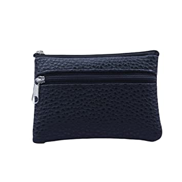 👜 Bolsos Billetera De Cuero, Monedero Multifuncional Monederos (Black): Amazon.es: Equipaje