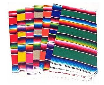 Del Mex (TM) Mexican Serape Blanket Table Runner (72u0026quot; ...