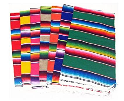 Del Mex (TM) Mexican Serape Blanket Table Runner (72u0026quot; ...
