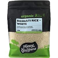 Honest to Goodness Organic Basmati Rice - White, 1.5 kg