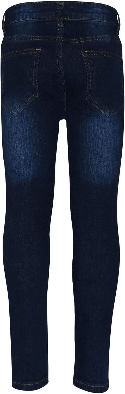 A2Z 4 para ni/ños de 5 a 6 7 8 9 10 11 12 13 a/ños pantalones ajustados dise/ño de tela vaquera rasgada Pantalones vaqueros el/ásticos para ni/ños