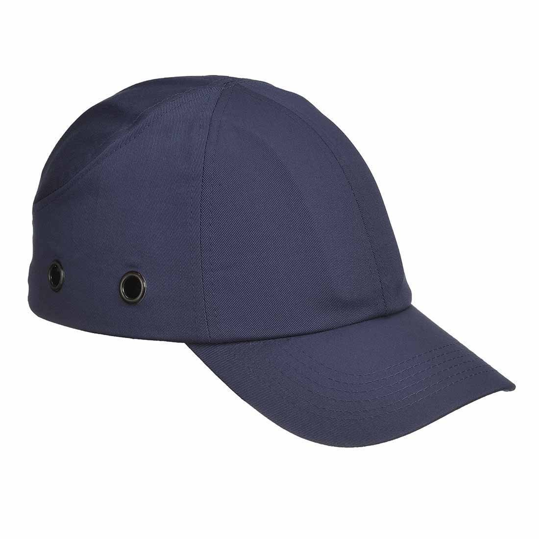 Black Spire Protective Vent Cool Safety Baseball Bump Cap Hard Hat
