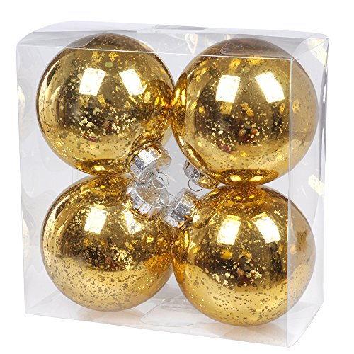 Ki store christmas ball ornaments outdoor hanging tree for Outdoor hanging ornaments