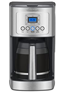 Cuisinart DCC-3200 14-Cup Glass Carafe with Stainless Steel Handle Programmable Coffeemaker, Graphite