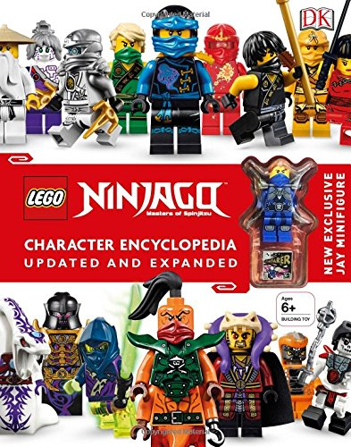 LEGO NINJAGO Character Encyclopedia, Updated Edition cover