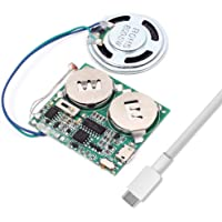 Icstation DIY Light Sensor Sound Module micro USB Music Player for Talking Greeting Card Creative Gifts 8M Memory w…
