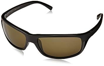 Serengeti Bormio Gafas, Unisex Adulto, Negro (Satin Shiny Black), M