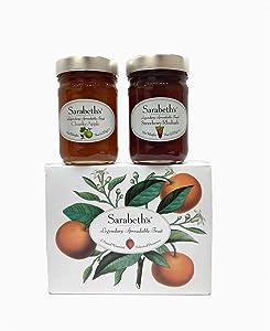 Sarabeth's Two Jar Gift Box Set - Chunky Apple & Strawberry Rhubarb