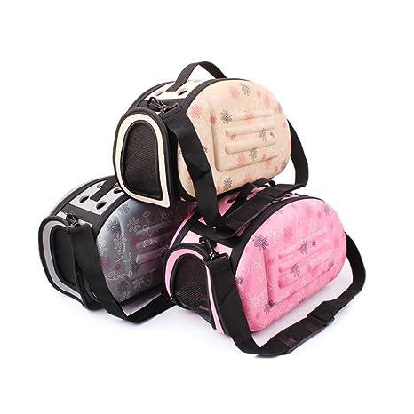 Pequeño perro bolsa de transporte plegable bolsa de viaje mascota perro bolsa de transporte para perros