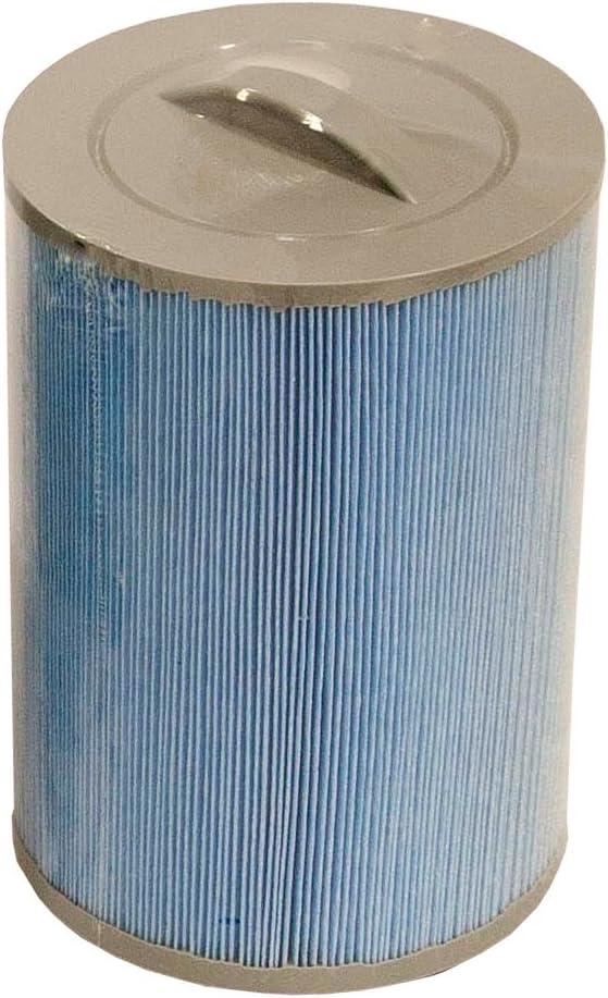 Canadiense SPA Company - Cartucho de Filtro para bañera Caliente (microbanco, Rosca de Filtro), Color Azul, 1,52 m