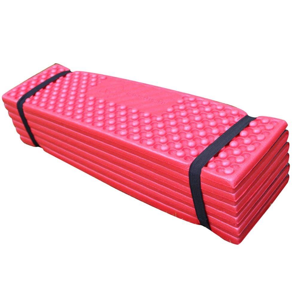 折り畳みアウトドアキャンプSleepingマット防水テントSleeping Pad Pad – – レッド B01N8TJ5G3 B01N8TJ5G3, 山形金庫:0e760949 --- itxassou.fr