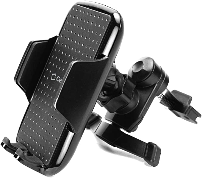 Cellet Air Vent Mount with 360 Degree Rotation and Tightening Knob Holder Compatible to Samsung Note 9,8,5 Galaxy A6,S9,S9 Plus,S8,S8 Plus,S8 Active,S7//Edge//Plus,J7//J7 Refine//J7 V//J3//Express Prime3 4351494718