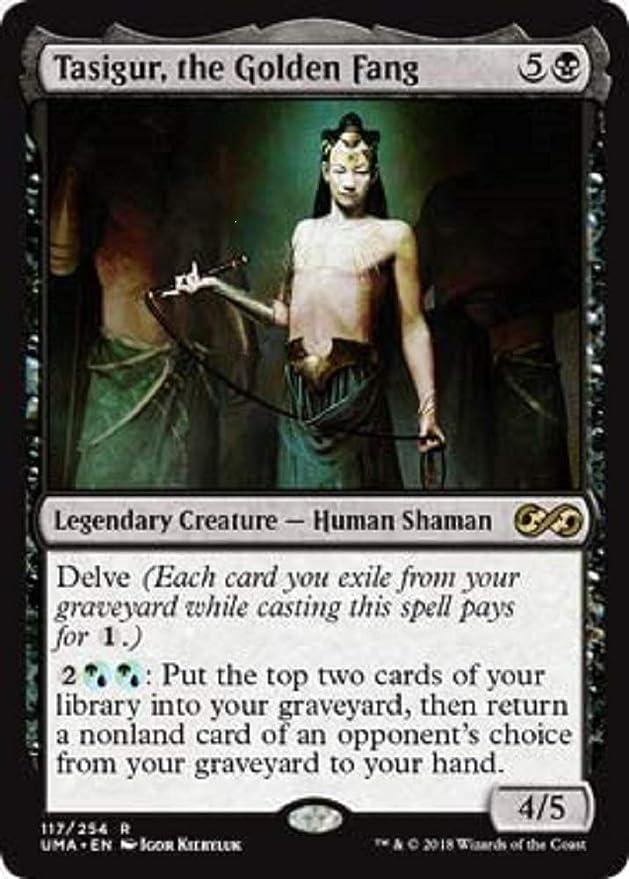 Tasigur the Golden Fang Fate Reforged NM Black Rare MAGIC MTG CARD ABUGames