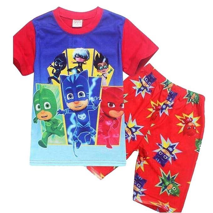 Pj Mask - Pijama dos piezas - para niño rojo rosso 4-5 Años