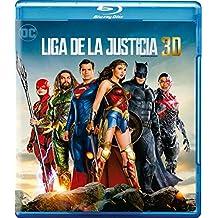 Liga de la Justicia [Justice League] Blu-ray 3D + Blu-ray [English, Spanish, & Portuguese Audio & Subtitles] - IMPORT