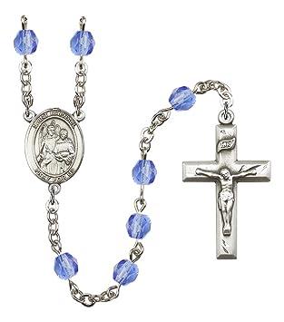 Rosario con medalla central del Arcángel Rafael