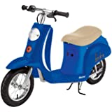 Razor Pocket Mod Miniature Euro 24V Electric Kids Ride On Retro Moped Scooter, Speeds up to 15 MPH, 10 Mile Range, and…