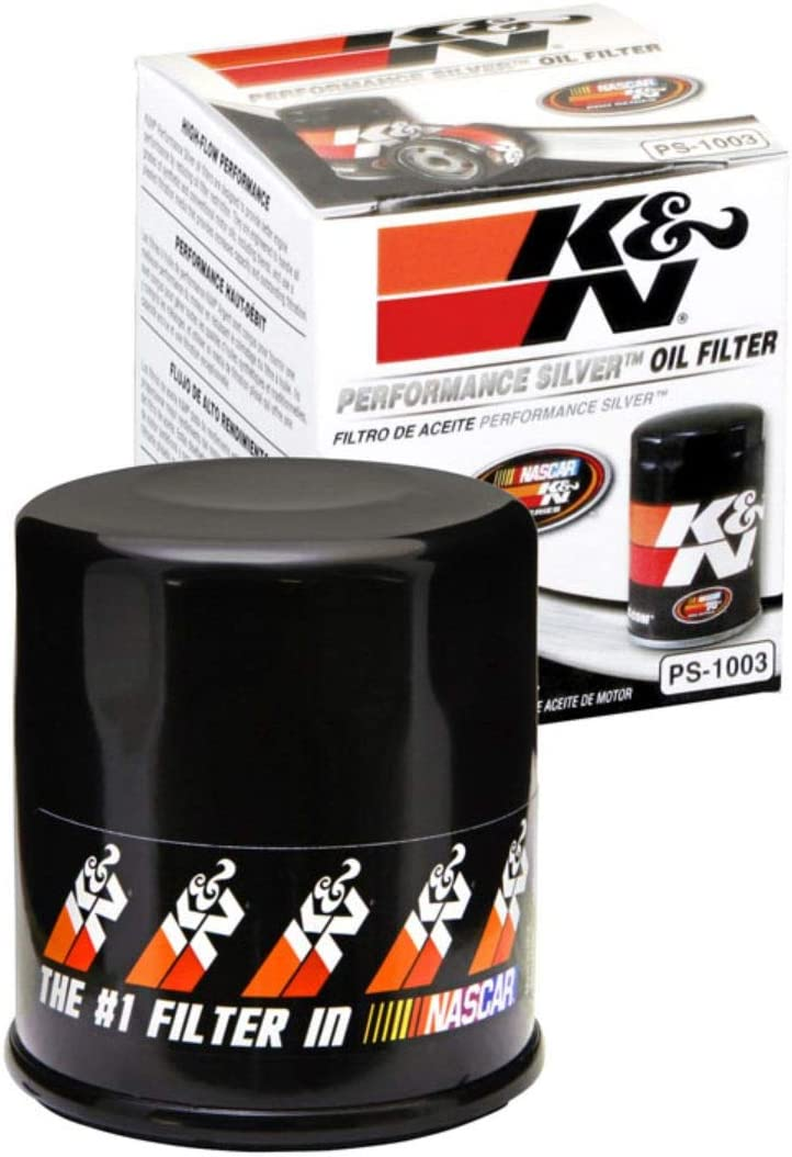 K&N Premium Oil Filter: Designed to Protect your Engine: Fits Select TOYOTA/LEXUS/SUZUKI/CHEVROLET Vehicle Models (See Product Description for Full List of Compatible Vehicles), PS-1003