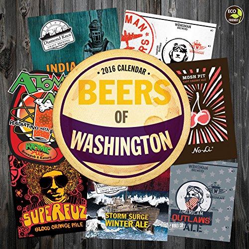 2016 Beer Labels of Washington Wall Calendar