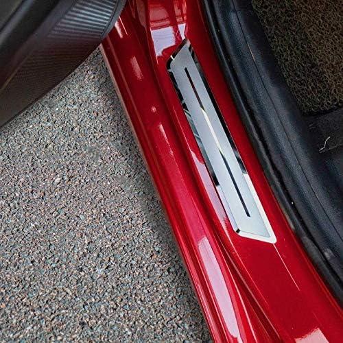 For Chevrolet Blazer Accessories 2019-2020 Steel Door Sill Protector Cover Trim 4pcs