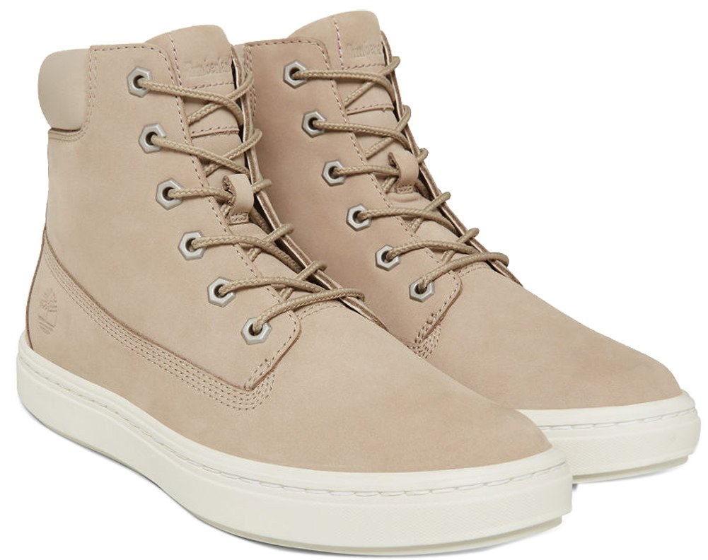 Timberland Women's Londyn 6'' Light Beige Nubuck 7 B US