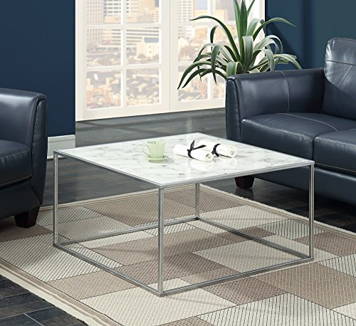 silver coffee table - 5