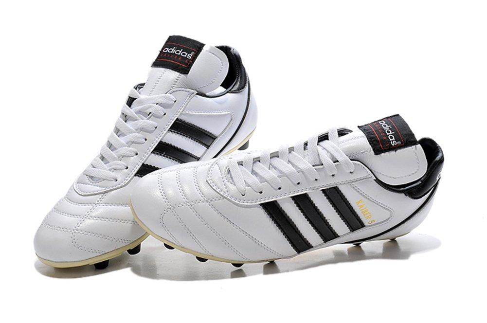 Demonry Schuhe Herren Kaiser 5 Liga FG weiß Fußball Fußball Stiefel