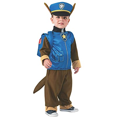 Rubie's Paw Patrol Chase Child Costume, Small: Toys & Games