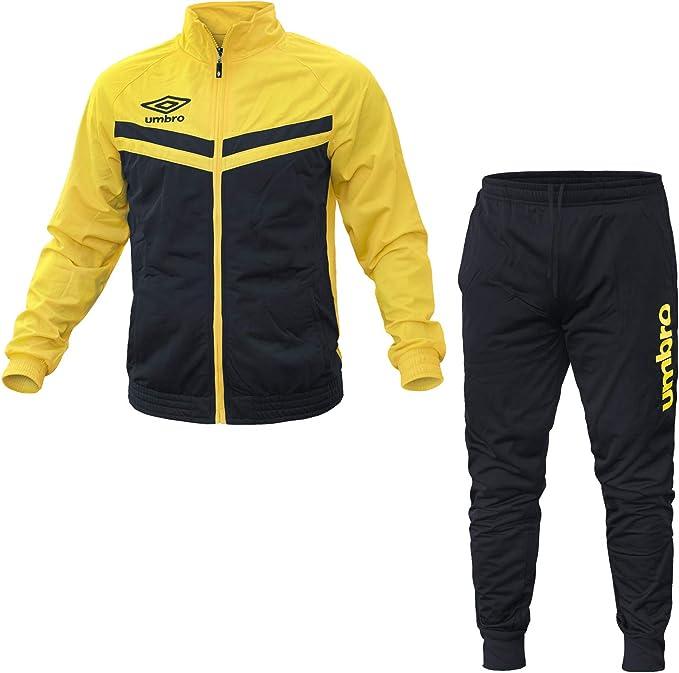 Umbro - Chándal - para Hombre Navy/Yellow XL/50: Amazon.es: Ropa y ...