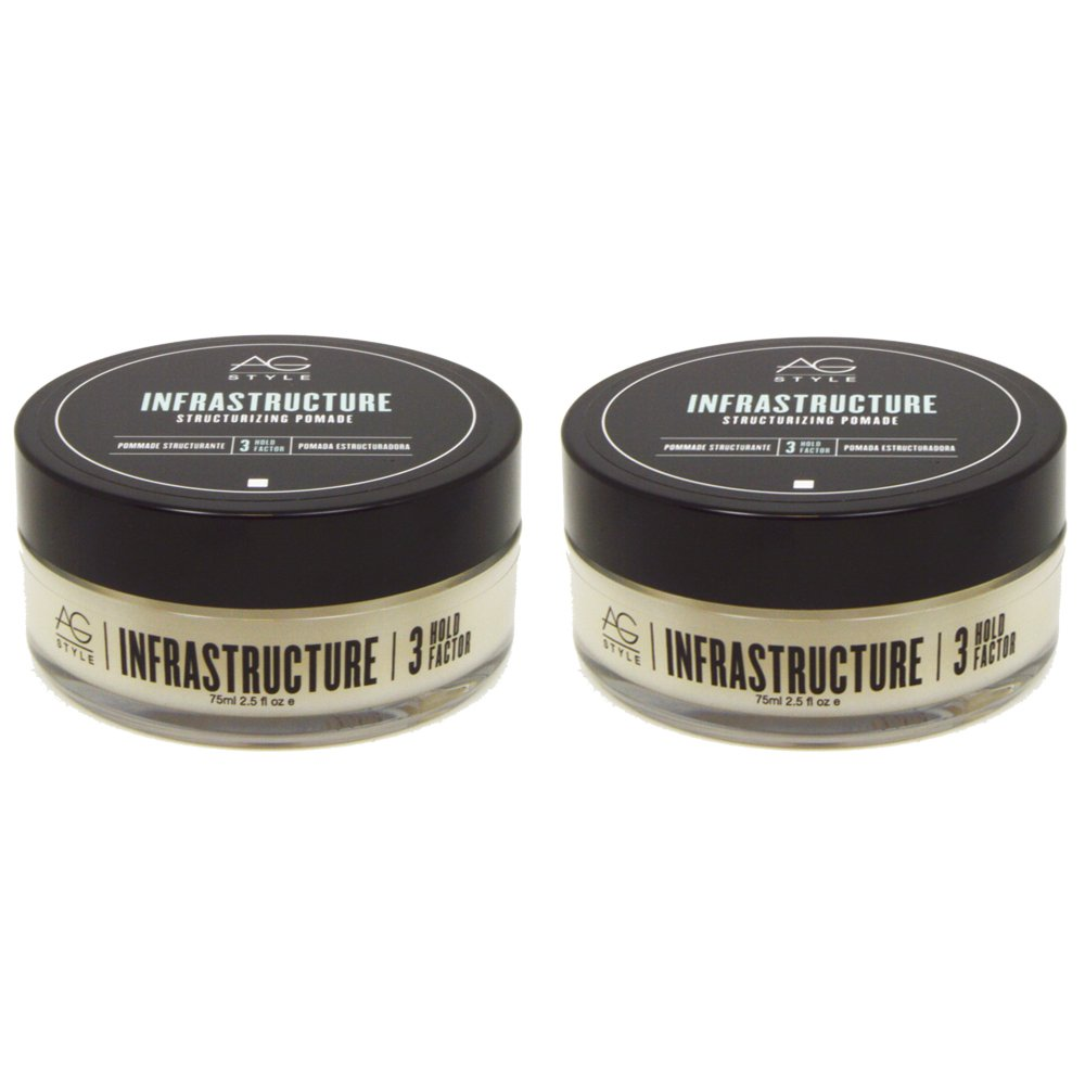 "AG Hair Infrastructure Structurizing Pomade 2.5oz ""Pack of 2"""