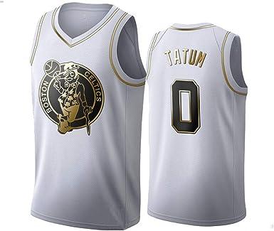 CYHW Hombres Baloncesto Jersey NBA Boston Celtics Jayson Tatum 0 Jeugd Entrenamiento Deportivo Ademend Kleding