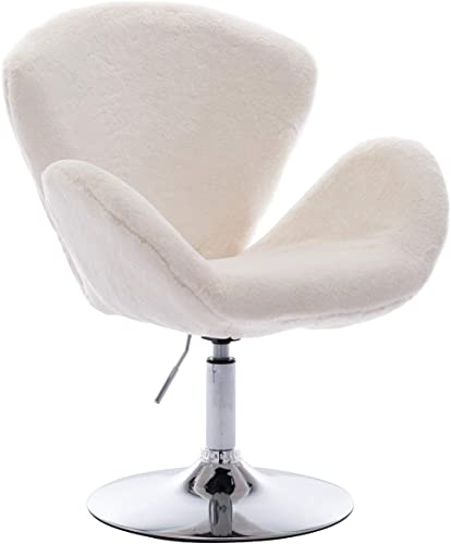 Kmax Faux Fur Vanity Chair