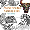 Animal Kingdom Coloring Book: A Stress Reduction and Relaxation Therapy  for Busy People (Ciparum's Relaxation Coloring Book) (Volume 3)