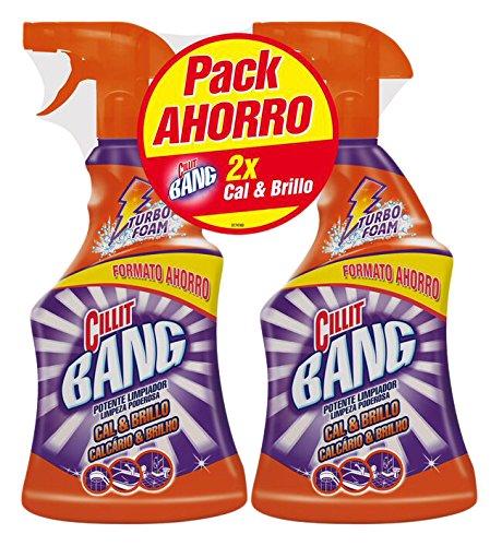 Cillit Bang Potente Limpiador Spray Cal & Brillo 750 ml (pack de 2): Amazon.es: Amazon Pantry