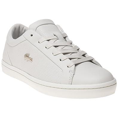 Lacoste Straightset Mujer Zapatillas Blanco