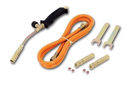 Juego de soldadura de 4 piezas Juego de herramientas de antorcha de soldadura Quemador de gas