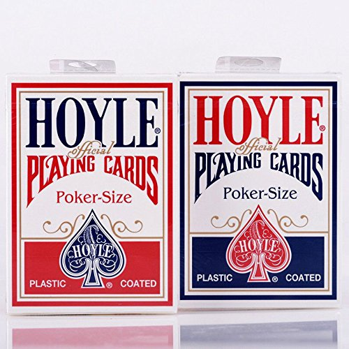 Hoyle Playing Card - Hoyle Standard Poker Playing Cards Red or Blue 1 Deck