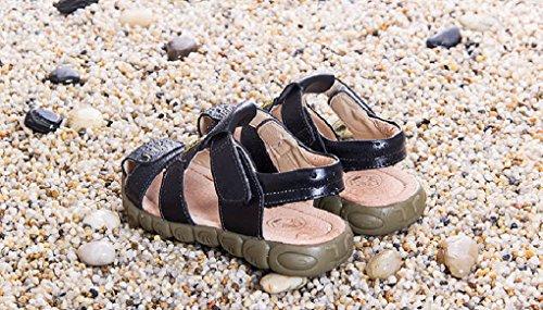 Evedaily - Zapatillas Bebé-Niños negro