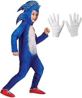 Amazon Com Reliloli Sonic The Hedgehog Costume Clothing
